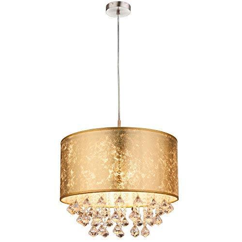 Globo Amy - Lámpara de techo, níquel, 60 W, color dorado