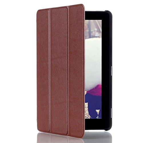 Ineternet Housse Internet_8810 Tablet-Schutzhülle, Taille libre, weiß - braun, Stück: 1