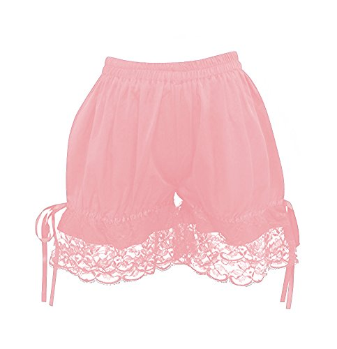 Tiny Time schön Damen Spitze Lolita Shorts / Bloomers / Hosen Rosa
