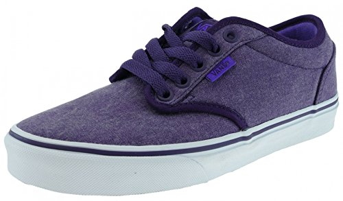 Atwood Womens Vans (Damen Sneaker Vans Atwood Women, (washedcanvas)blackberry/, 38 EU)