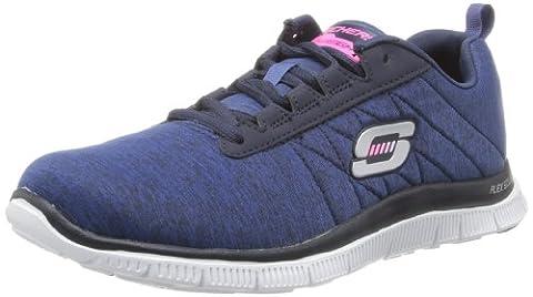 Skechers Flex AppealNext Generation, Peu femme, Azul (NVY), 39
