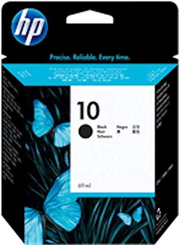 HP 10 C4844A Cartuccia Originale per Stampanti a Getto di Inchiostro, Compatibile con 2500cm, Business Inkjet 3000dtn, Designjet 815 e 820 MFP, Designjet Serie 500 e 500 Plus, Nero