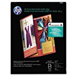 Inkjet Tri-Fold Brochure Paper, 103 Brightness, 48lb, 8-1/2 x 11, White, 100/PK, Sold as 100 Sheet