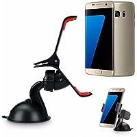 Cellulare supporto del banco - Kingwo telefono staffa universale parabrezza supporto del basamento del supporto per Samsung Galaxy S7 / S7 bordo