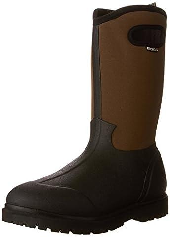 Bogs Roper Hommes US 8 Noir Chaussure de Travail