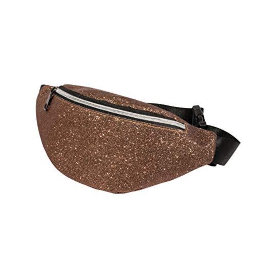 Mode Frauen Bling Pailletten Umhängetasche Messenger Bag Brusttasche Zolimx -