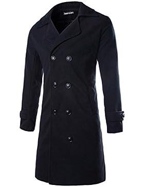 Jeansian Abrigos Y Chaquetas De Los Hombres Moda Estilo Largo Espeso Fashion Long Style Thickened Outwear 9334