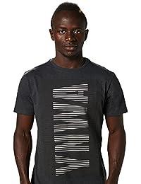 Liverpool FC LFC Mens Charcoal MARL Raised YWNA T-Shirt NWT Official