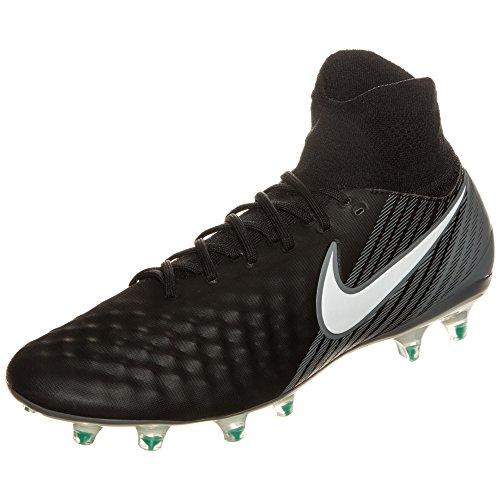 Nike Magista Orden II FG-Guantes de fútbol, Negro/Blanco