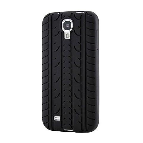 Gearonic AV-5319BPUIB Tire Tread-Style Pattern Silicone Gel Soft Case Back