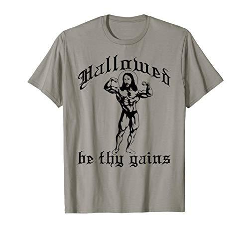 96f71fdd2 Hallowed be thy gains shirts il miglior prezzo di Amazon in SaveMoney.es