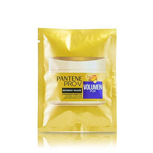 Pantene Pro-V Boite de soin intensif 2 min Lot de 5 mini Cure Volume pur 5 x 25 ml
