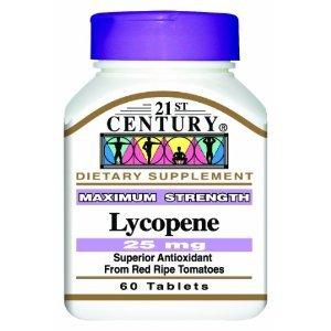 LYCOPENE , Maximum Strength, 25 mg, TRIPLE VALUE PACK (3X 60 TABLETS)