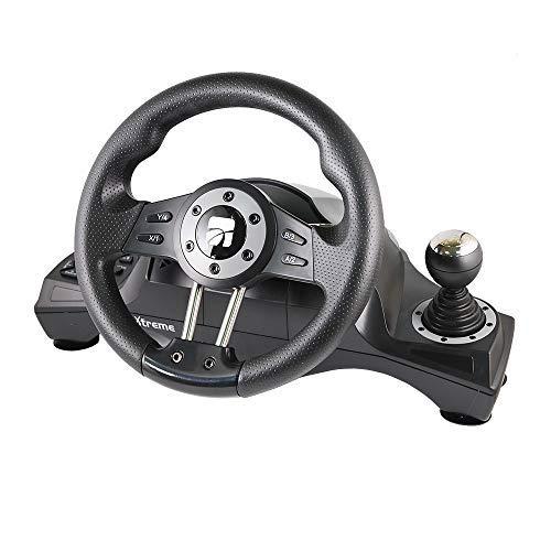 Volante e Pedaliera Racing weel compatibile PC