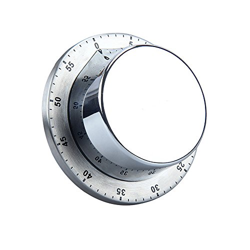 Uhr, mechanisch, magnetisch Küchen-Timer neuen Küchentimer kurz, kurzfristig Wecker schwarz