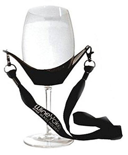 Wine Yoke Wine Glass Holder by (Gourmet Mothers Day Gift)