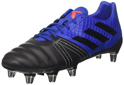Adidas Herren Kakari Elite Sg Rugbyschuhe, Mehrfarbig (Collegiate Royal/Core Black/Blaze Orange S13), 47 1/3 EU (Rugby-boot-schuhe)