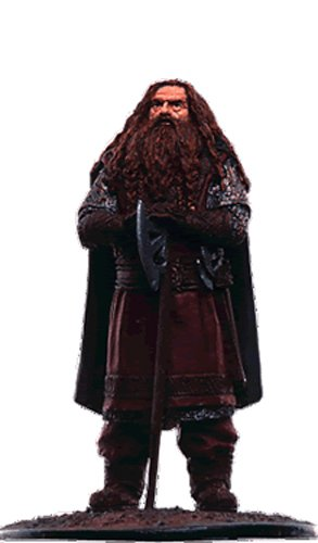 Lord of the Rings Señor de los Anillos Figurine Collection Nº 104 Gimli 1