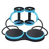 Kaiyei AB Wheel Musculation Abdo avec Roue Exercice Fitness Exercice Roulette Abdominaux AB Wheel...