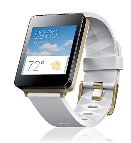 LG G Watch (1,2-GHz-Qualcomm-Prozessor, 4GB Speicher, Bluetooth 4.0) weiß (Watch Lg G R W110)