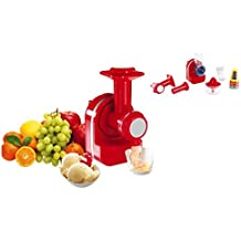 3in1Robot de cocina exprimidor Máquina de hielo y eléctrica rallador Exprimidor Cuenco 200ml (picadora, Exprimidor, pulpa de filtro)