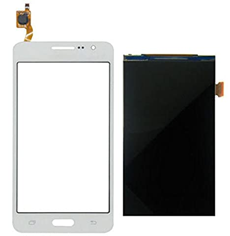 ixuan Ecran Vitre Tactile + LCD de Remplacement pour Samsung Galaxy Grand Prime VE SM-G531 SM-G531F G531 (Blanc)
