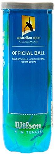 Wilson Australian Open 3 Ball Yellow, 6