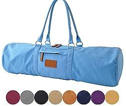 #DoYourYoga Yogatasche »Damayanti Segeltuch gefertigt, Tasche für Yogamatten- und Pilatesmatten bis zu Einer Größe von 186 x 60 x 0,5 cm, Yogatrageschae (Yogabag) in 9 Farben Pfirsisch
