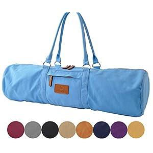 #DoYourYoga Yogatasche »Damayanti Segeltuch gefertigt, Tasche für Yogamatten- und Pilatesmatten bis zu Einer Größe von 186 x 60 x 0,5 cm, Yogatrageschae (Yogabag) in 9 Farben
