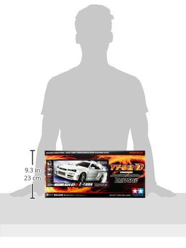RC Drift Car kaufen Drift Car Bild 1: TAMIYA 300058605 1 10 RC Nismo R34 GT R Z Tune (TT 02D)*
