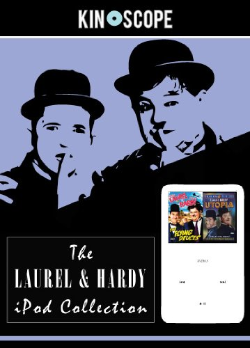 Preisvergleich Produktbild BN LAUREL & HARDY - Transfer films to ipod / iphone DVD Flying Deuces & Utopia [UK Import]