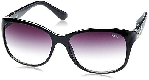 IDEE Gradient Square Women's Sunglasses - (IDS1925C1SG|58|Smoke Half Gradient lens) image