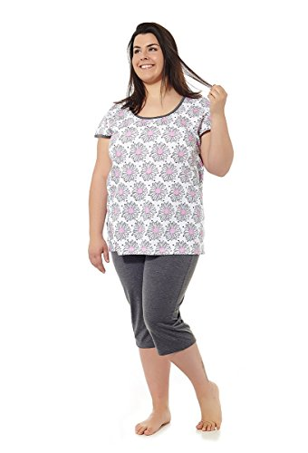 279a35445a Pijama mujer verano tallas grandes. Varios Estampados. Manga corta o  tirantes. Pantalón.