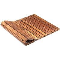 AsinoX TEK4H4060 alfombra de baño en madera de teca