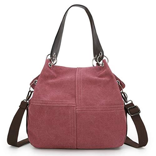 LILIGOD Damen Handtasche Frauen Umhängetasche Tasche Handbag Shoulder Bag Women Leisure Tote Paket Handgefertigt Student Handytasche Kosmetiktasche Einkaufstasche Travel (Glider Ipad)