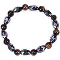 HEALIFTY Magnetische Armband Natural Rock Stone Therapie Heilung Energie Chakra Perlen Stretch-Armband für Männer... preisvergleich bei billige-tabletten.eu