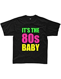 IT'S THE 80s BABY Mens Funny Printed T-Shirt