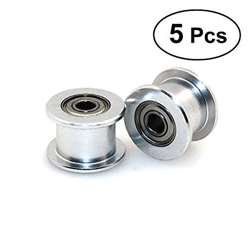 3mm Bohrung Zahnriemenscheibe für 3D Drucker 6mm Breite Zahnriemen Zahnlos (Wälzfräsmaschine)