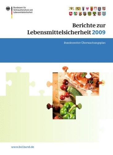 Berichte zur Lebensmittelsicherheit 2009: Bundesweiter Überwachungsplan 2009 (BVL-Reporte, Band 5) (Nahrungsergänzungsmittel Jod)