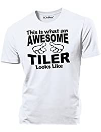 iClobber Awesome Tiler Mens T Shirt