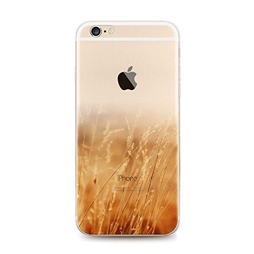 """iPhone 6S Hülle,EinsAcc TPU Elegant Landschaft Slim Schutzhülle Hülle für iPhone 6S und 6 (4,7"""") Case Cover (Löwenzahn) Löwenzahn"""