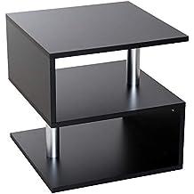 tavolini da salotto moderni - Nero - Amazon.it