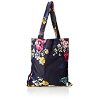 Joules Womens Pacabag 30th Anniversary Top-Handle Bag Blue (Cambridge Floral)