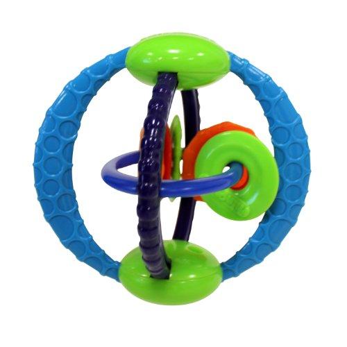 HCM Kinzel 28289 - Oball Beißring mit Ringen, Sonstige Spielwaren