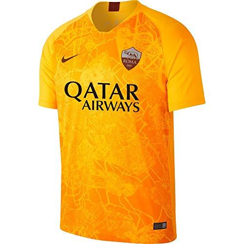 Nike Roma M NK BRT STAD JSY SS 3R - Camiseta, Hombre, Multicolor(University Gold/Mars Stone)
