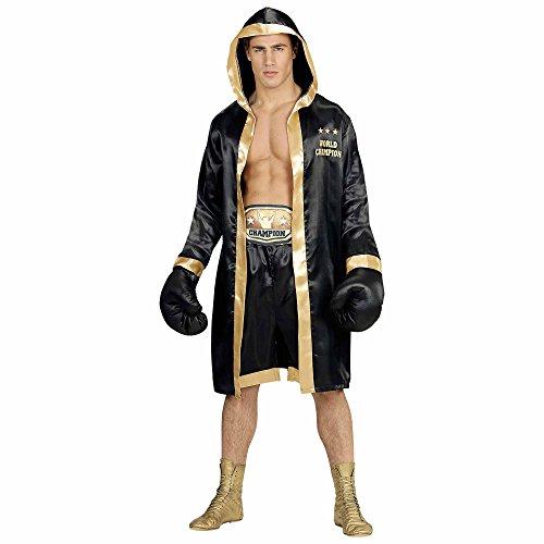 Widmann 19293 Erwachsenen Kostüm Boxer World Champion, Mehrfarbig, M/L
