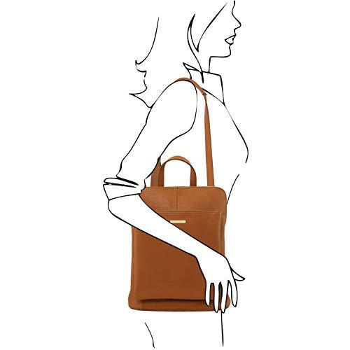 Tuscany Leather TL Bag Zaino donna in pelle morbida - TL141682 (Nero)
