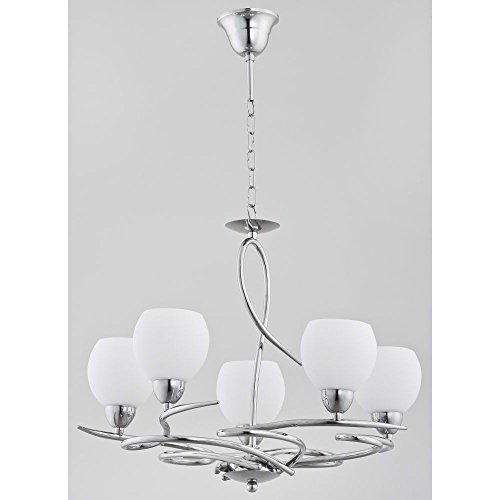 moderno-lampadario-5-x-40-w-e14-peroni-21505-alfa