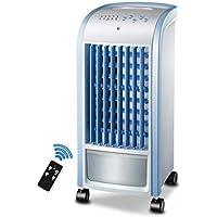 Ventilador De Aire Acondicionado 3 En 1 Refrigerador De Aire Del Espacio Personal, Purificador De Escritorio Mini Ventilador/Ventilador Del Acondicionador De Aire Del Escritorio 3 Velocidades, Azul