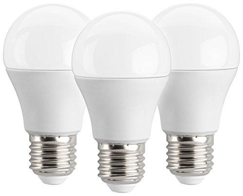 Lampe 27 (LED Lampe E27 | 5,5W ersetzt 40W | warmweiß (2700 Kelvin) 470 Lumen | 3er Pack)
